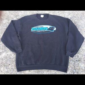 2001 Carolina Panthers Sweatshirt NFL Football XL